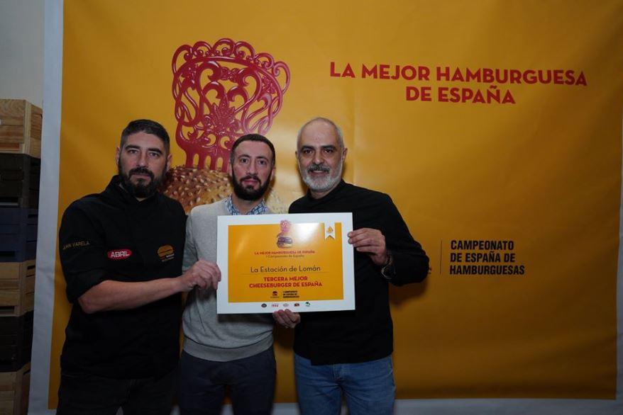 Una de nuestras hamburguesas entre las mejores de España